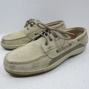 Sperry Suede Leather Casual Deck Boat Top-Sider